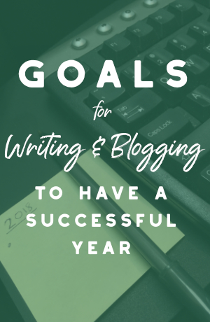 Writing Goals in 2018