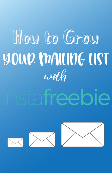 how-to-grow-mailing-list-instafreebie