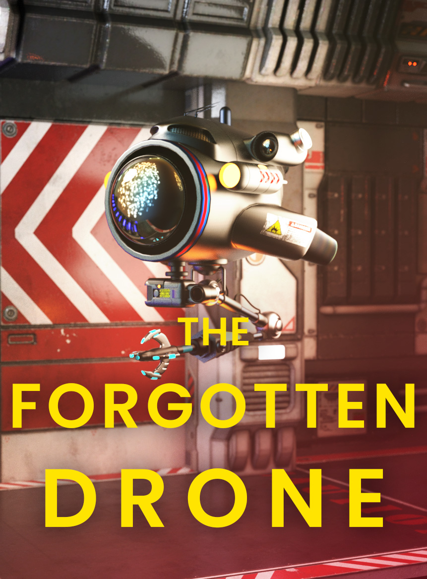 the-forgotten-drone-scifi short story